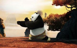 Фото бесплатно кунг-фу, панда, прияем