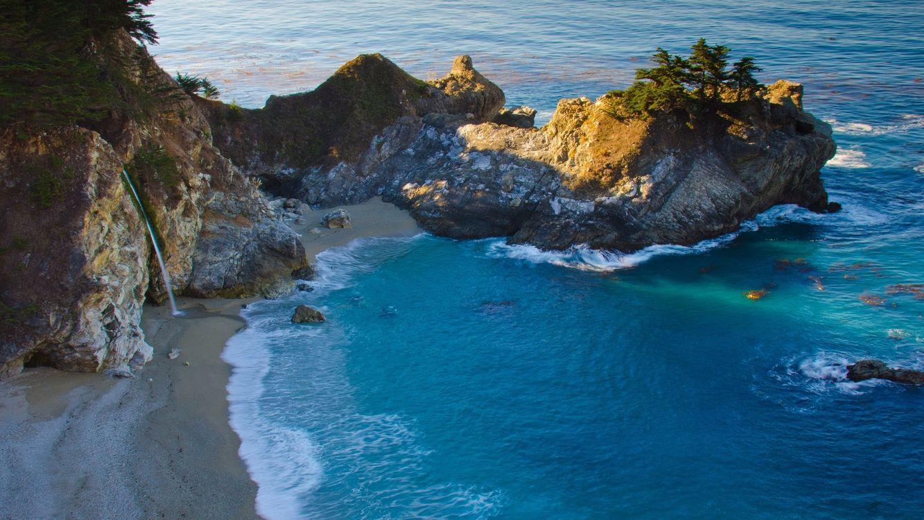 Фото бесплатно пляж, волны, вода - на рабочий стол