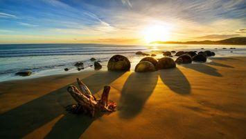 Фото бесплатно новая зеландия, море, пляж