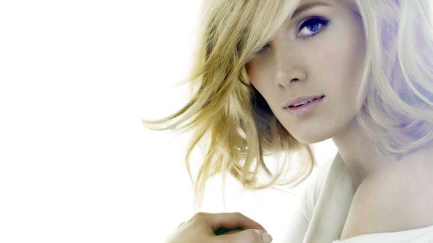 Photo free hair, blonde, eyes