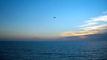 Фото бесплатно самолет, лети, высоко