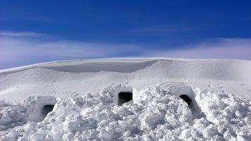 Бесплатные фото снег, холодно, небо, красиво, белый, много, природа