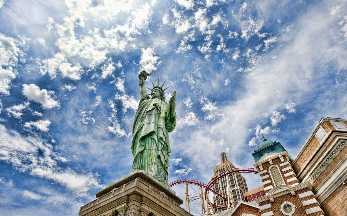 Фото бесплатно статуя свободы, памятник, америка - на рабочий стол