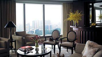 Photo free chairs, armchair, window