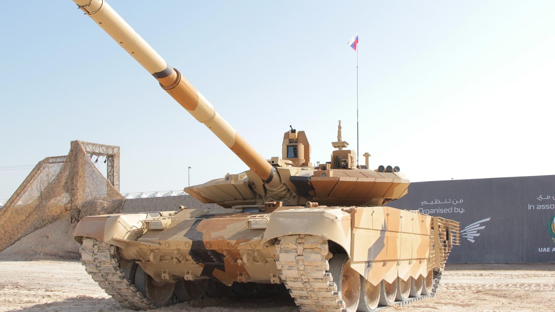 танк, т-90мс, большой