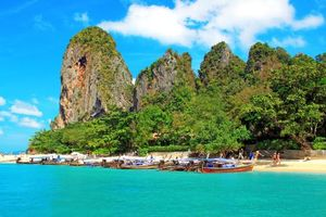 Photo free boats, tropics, thailand