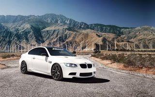 Фото бесплатно ветряки, 1013mm, бмв, bmw m3, горы, тюнинг, машины