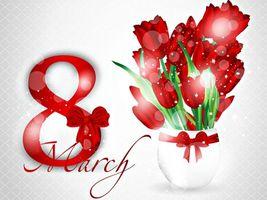 Бесплатные фото 8 марта,Международный,женский день,поздравляем наших дам,цветы