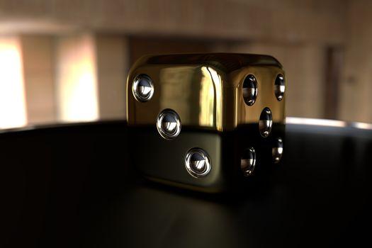 Фото бесплатно the, cube, gold