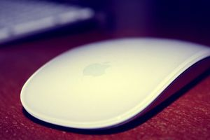 Photo free apple, mouse, logo