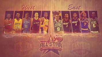 Фото бесплатно баскетбол, звезды, игра