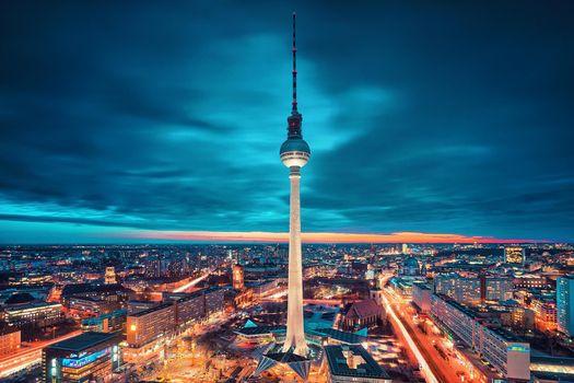 Фото бесплатно Berlin City, Берлин, Германия