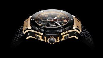 Обои часы, мужские, циферблат, стрелки, время, секунды, цифры, числа, ремешок, браслет, хронограф, разное