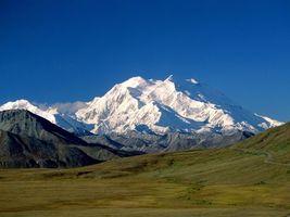 Фото бесплатно горы, снег, поле