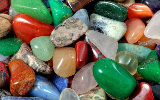 Фото бесплатно камушки, разноцветные, маленькие