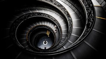 Photo free stairs, spiral, steps