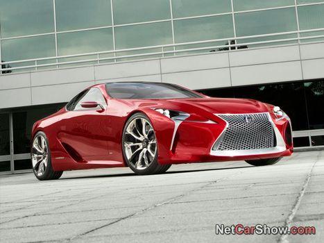 Фото бесплатно lexus, машина, червона