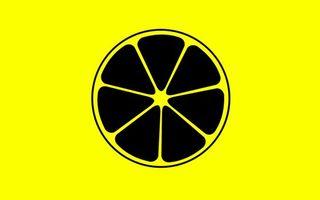 Бесплатные фото лимон,дольки,круг,фигура,желтый фон,разное