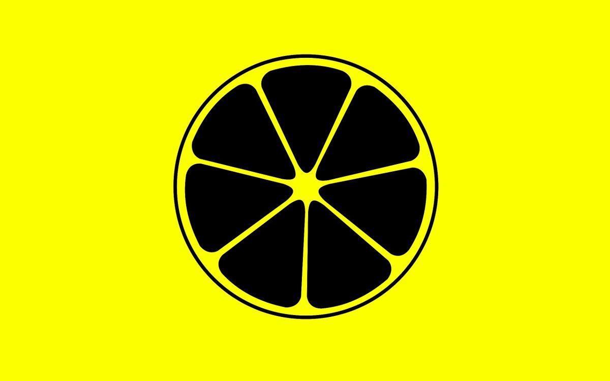 Фото бесплатно лимон, дольки, круг, фигура, желтый фон, разное, разное