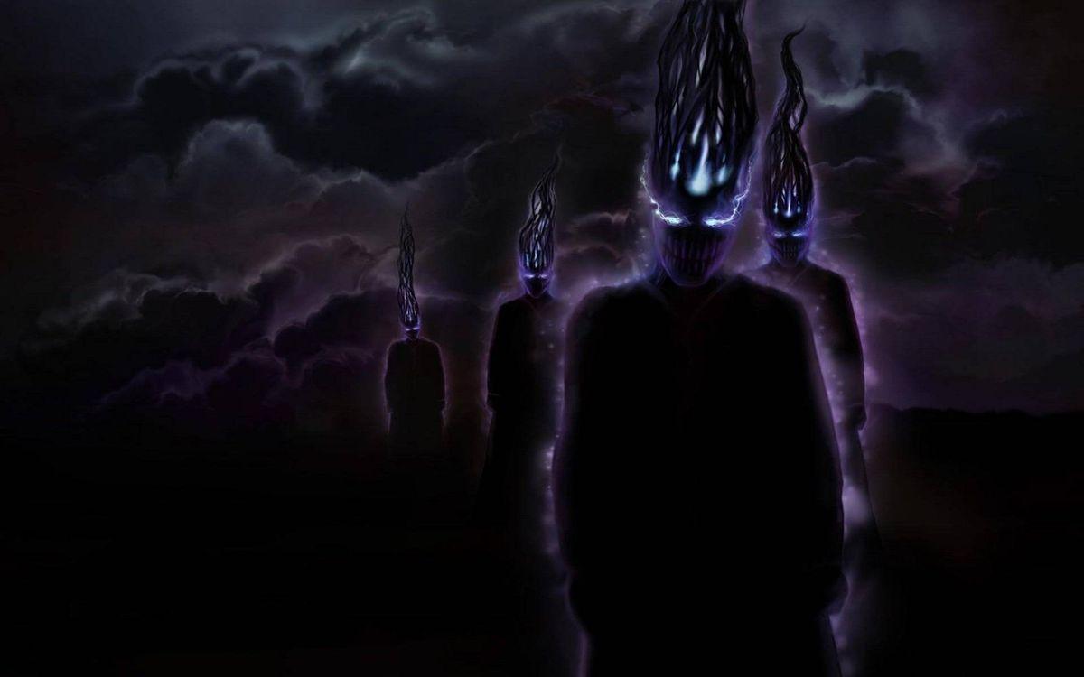 Фото бесплатно монстры, ночь, фэнтези, разное