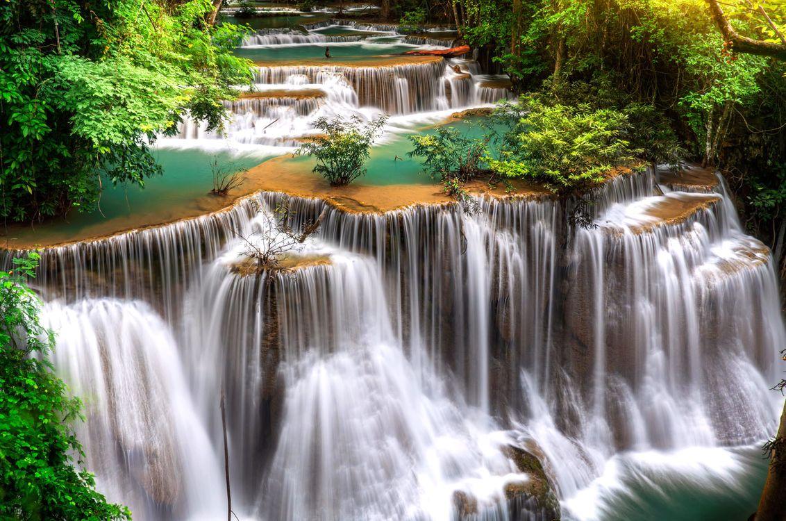 Фото бесплатно природа, пейзаж, водопад, природа