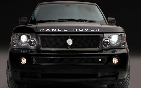 Photo free range rover, black, jeep