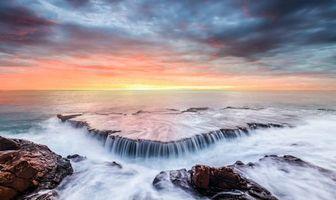 Бесплатные фото закат, море, камни, скалы, берег, пейзаж