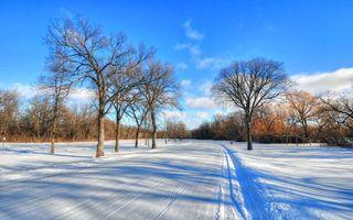 Бесплатные фото зима, снег, дорога, пейзажи