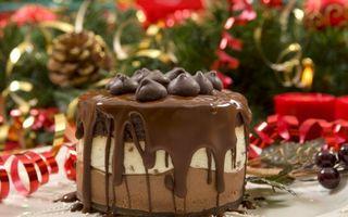 Фото бесплатно торт, шоколад, глазурь
