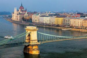 Фото бесплатно Здание венгерского парламента, Венгрия, Будапешт