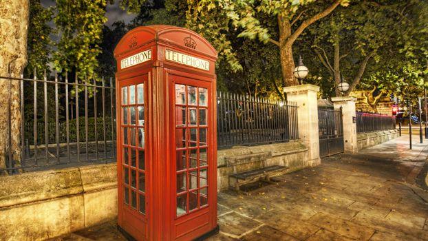 Фото бесплатно телефон, будка, красная