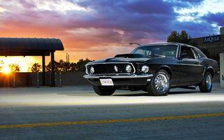Бесплатные фото форд мустанг,диски,фары,асфальт,дорога,купе мускулкар,машины
