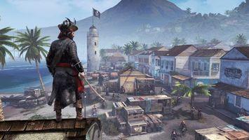 Фото бесплатно город, пираты, порт