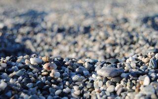 Обои камни, галька, берег, пляж, лето, юг, тепло, отдых, природа