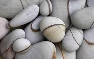 Фото бесплатно камни, рисунок, узор, линии, полоски, берег, разное
