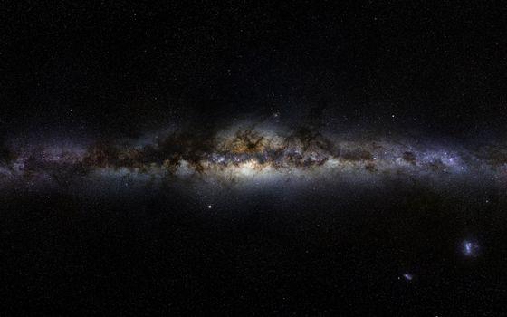 Фото бесплатно млечный, путь, звезды