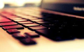 Фото бесплатно ноутбук, клавиатура, кнопки