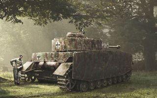 Фото бесплатно танк, гусеница, колеса