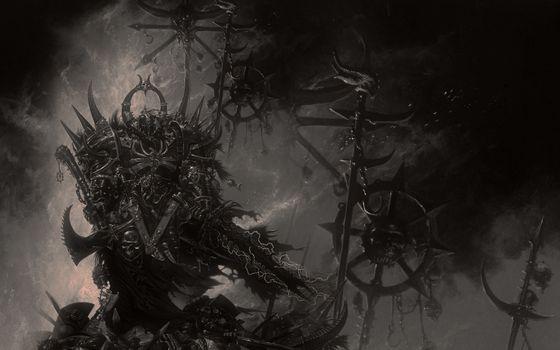 Фото бесплатно доспехи, warhammer, меч