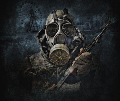 Фото бесплатно солдат, припять, зов припяти, сталкер, s.t.a.l.k.e.r, call of pripyat