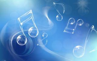 Фото бесплатно ноты, мелодия, фон