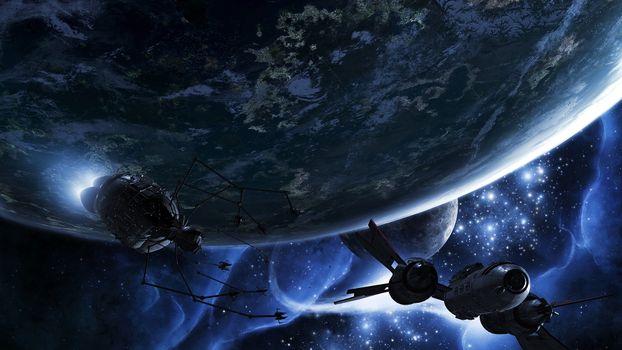 Photo free planets, carablis, satellites