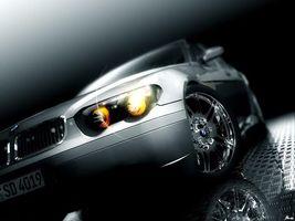 Бесплатные фото бмв,фары,серебро,часть,машины