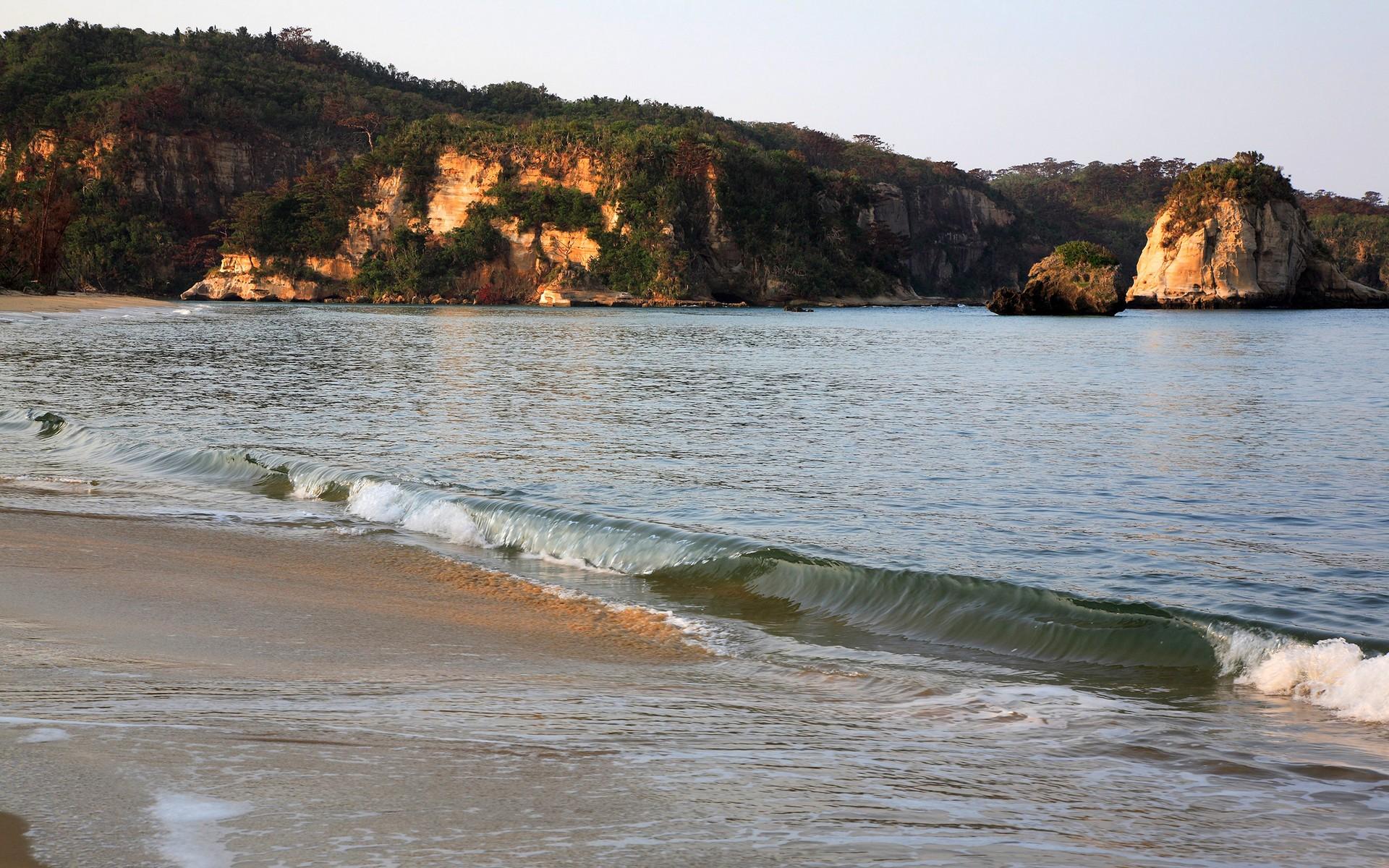 берег, песок, море
