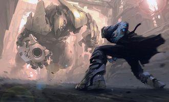 Бесплатные фото человек,костюм,робот,гигант,меха,воин,фантастика