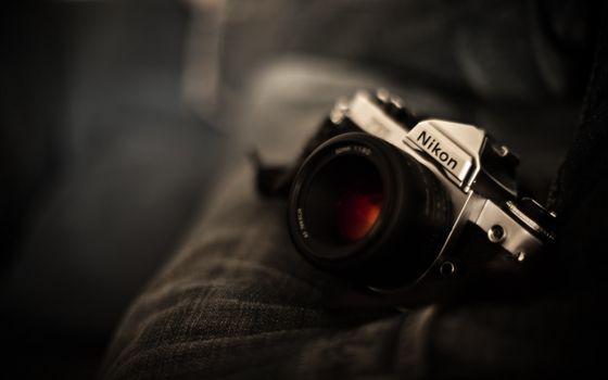 Фото бесплатно фотоаппарат, фотик, никон