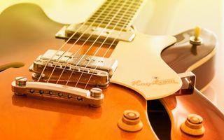 Обои гитара, электронная, струны, звукосниматель, переключатель, гриф, музыка