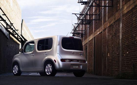 Фото бесплатно куб, автомобиль, колеса