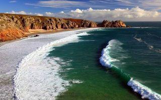 Бесплатные фото море,океан,вода,пена,волны,берег,песок