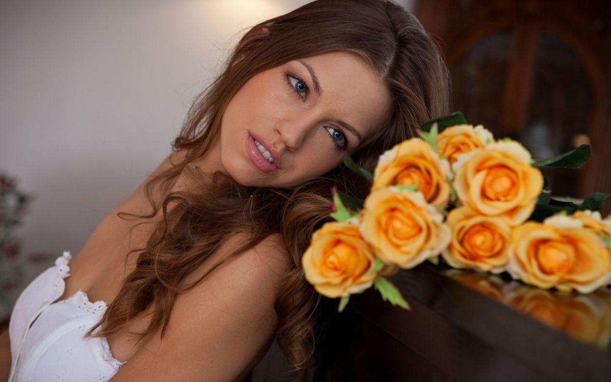 Фото бесплатно нежность, любовь, цветы - на рабочий стол